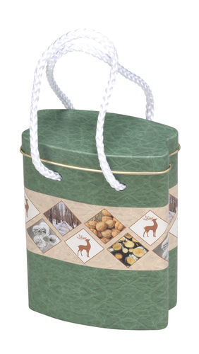 NATURE SHOPPING BAG KLEIN 86x46x120mm